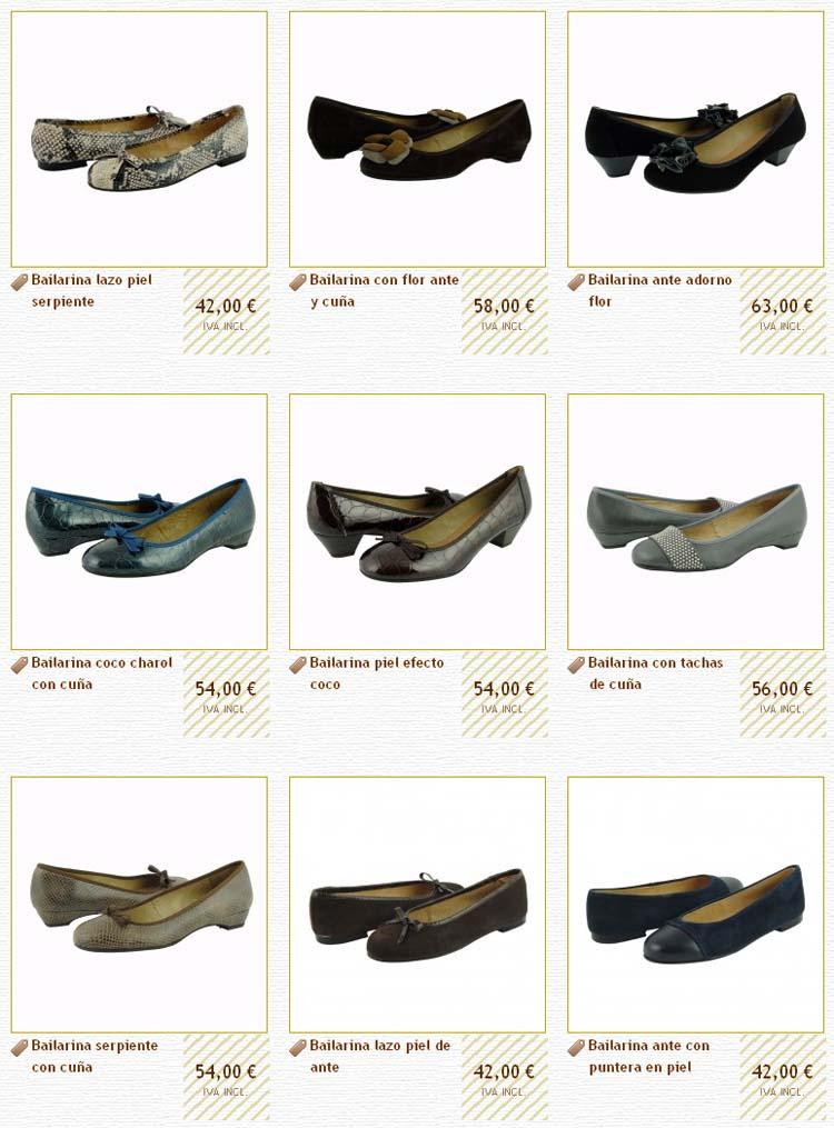 Comprar bailarinas online temporada otoño-invierno 2010-2011