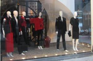 Escaparate moda navidad new york