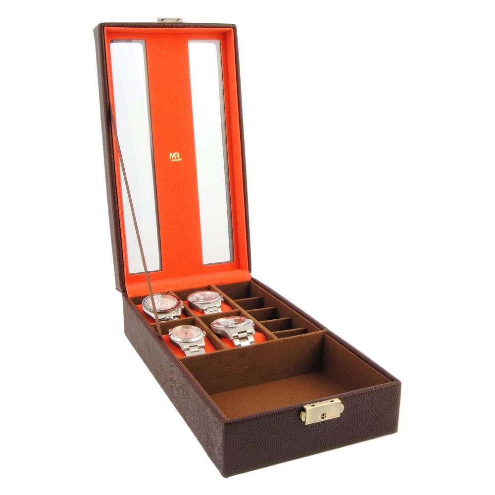 Caja para relojes y joyas
