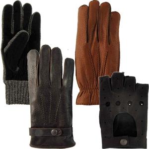 tienda online guantes hombre piel