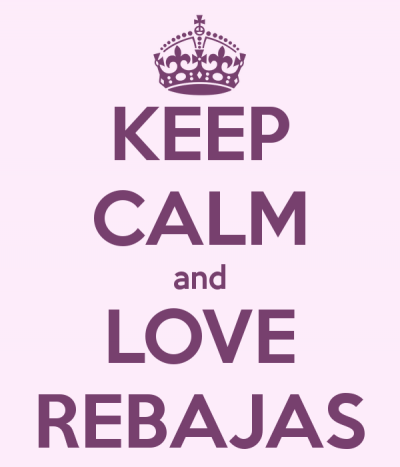keep calm rebajas